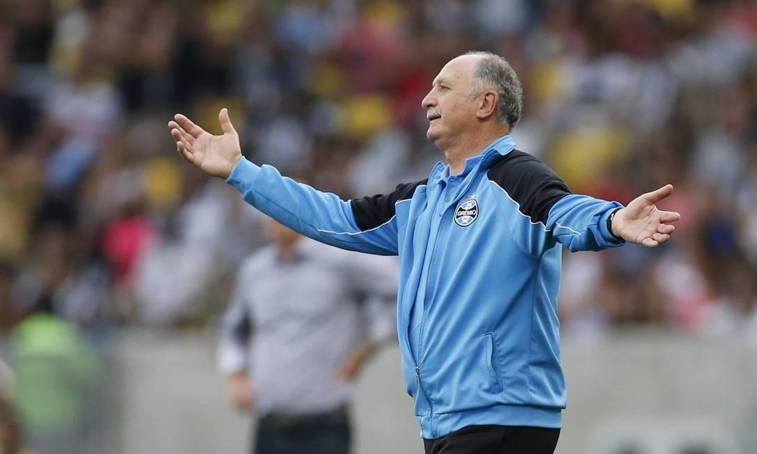 Felipão não é mais técnico do Grêmio Foto: Alexandre Cassiano / Agência O Globo