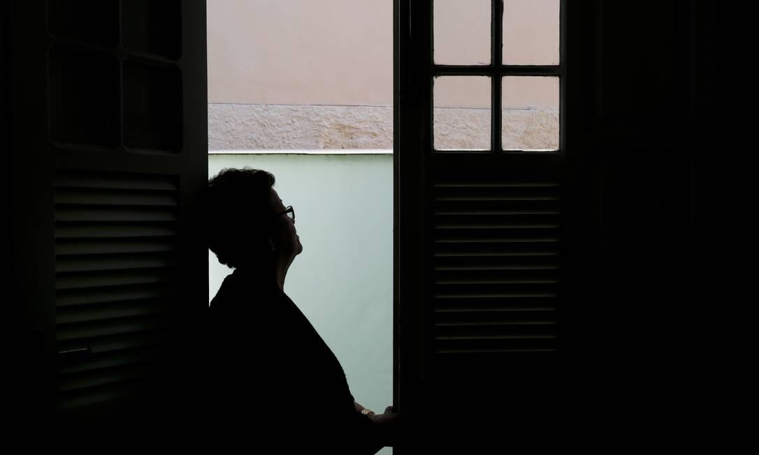 SOC Rio de Janeiro 22/07/2014 - Cuidados no final da vida - Vilma Ribeiro perdeu seu marido. Foto Simone Marinho/ Ag O Globo Foto: Simone Marinho / Agência O Globo