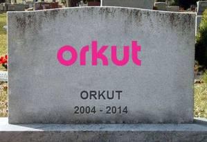Após 10 anos, Orkut encerra as atividades Foto: Reprodução de internet