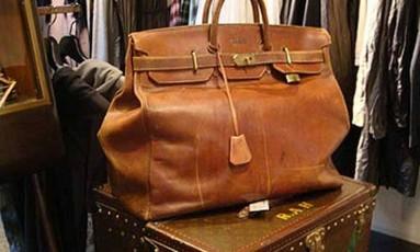 A bolsa Hermès favorita de Kanye West Foto: Reprodução