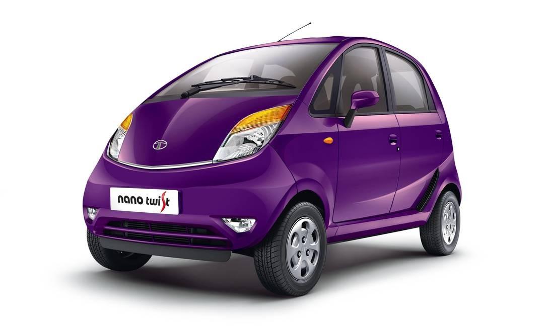 487ce6f0e91a 1º) TATA NANO (R$ 5.570 na Índia) - Lançado em 2008 como