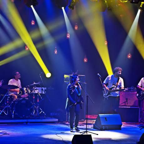 Leminskanções. O show idealizado por Estrela Ruiz Leminski reúne canções inéditas e parcerias musicais assinadas pelo poeta Foto: Divulgação/Denis Ferreira