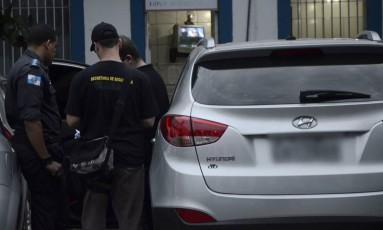 Carro de capitão preso no batalhão do Méier está avaliado em R$ 92 mil Foto: Divulgação / Secretaria de Segurança