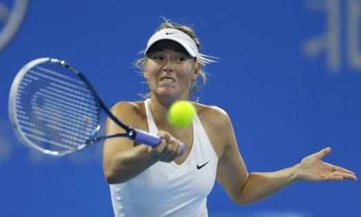 A russa Maria Sharapova está nas quartas de final no WTA de Pequim Foto: JASON LEE / REUTERS