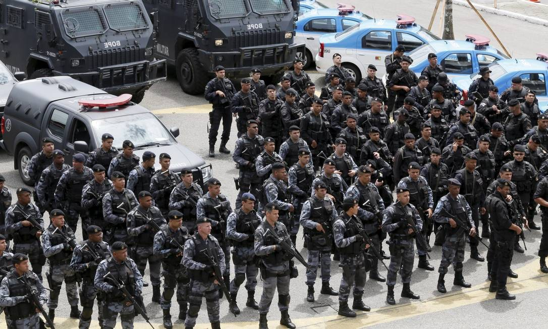 PM faz operação para as eleições - Jornal O Globo