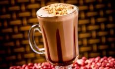 Megamatte. O Choconut é feito com mate, leite e amendoim. R$ 8,90 Foto: Divulgação/Filico