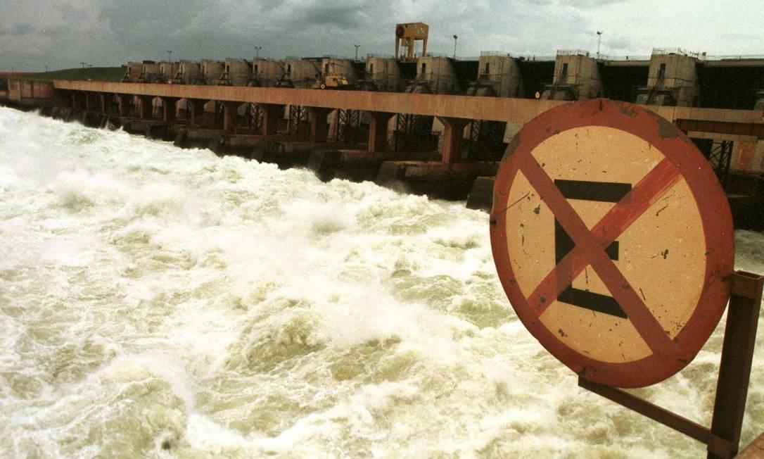 Segundo a Aneel, empresa não alterou vazão da hidrelétrica de Jaguari Foto: JOSÉ LUIZ DA CONCEIÇÃO / DPA/18-12-1998