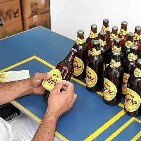 A cervejaria Ranz, em Luminar, em Nova Friburgo: uma das atrações Foto: Marcelo Horn / Divulgação