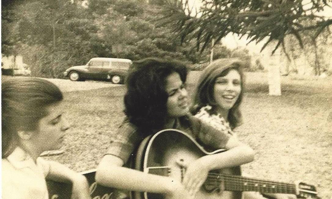 Dilma no Clube Campestre em 1960 Foto: Arquivo pessoal / Arquivo pessoal