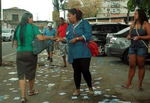 Cabos eleitorais fazem boca de urna em Campo Grande Foto: Gabriel de Paiva / Agência O Globo/Arquivo