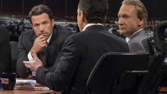 Ben Affleck durante o programa de TV Foto: Janet Van Ham / AP