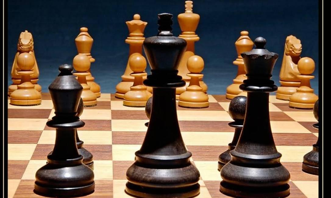 Xadrez ajuda a desenvolver a inteligência e memória Foto: / Reprodução da internet