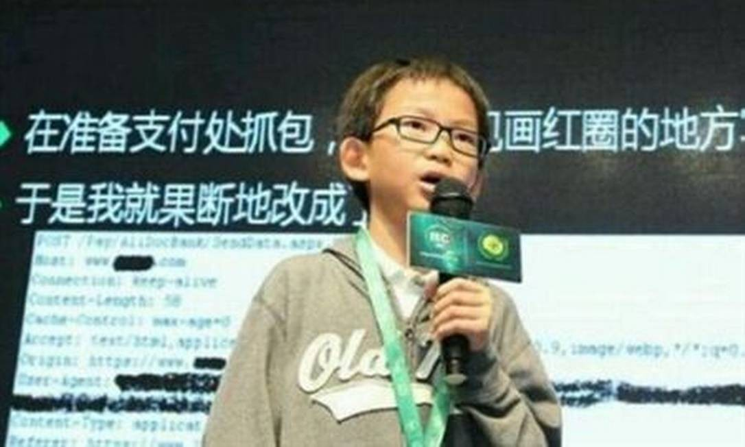 Hacker mais novo da China diz ser um 'bom garoto'