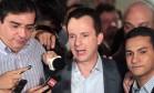 De olho em 2016: Celso Russomanno diz que pretende disputar prefeitura Foto: Eliaria Andrade / O GLOBO/7-10-2012