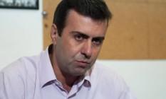 Marcelo Freixo (PSOL), candidato à prefeitura do Rio Foto: Erbs Jr. / Frame