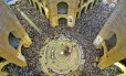 A basílica lotada no Dia de Nossa Senhora Aparecida no ano passado