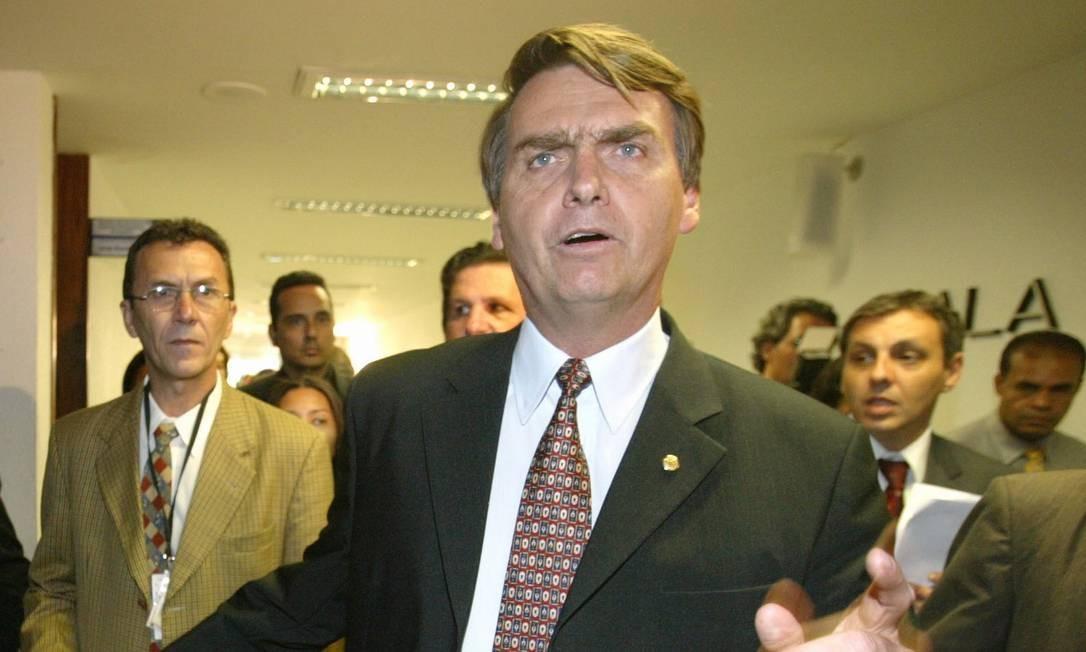 Jair Bolsonaro (PP): Deputado mais votado no Rio, com 464,5 mil votos. Reeleito, Bolsonaro é citado em inquérito no Supremo Tribunal Federal (STF) que apura crime ambiental. Foto: Ailton de Freitas/13-09-2005