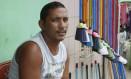 O gari Vácio: após morte de Campos, seu coração foi para Marina Foto: Hans von Manteuffel / O Globo
