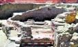 Os restos do porto redescobertos: armazém, fornos e aposentos dos marinheiros