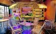 O despojado restaurante Trinkhalle, referência em cardápio sem glúten em Madri