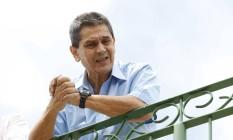 Roberto Jefferson concedeu entrevista em escritório de advocacia Foto: Agência O Globo / Pablo Jacob