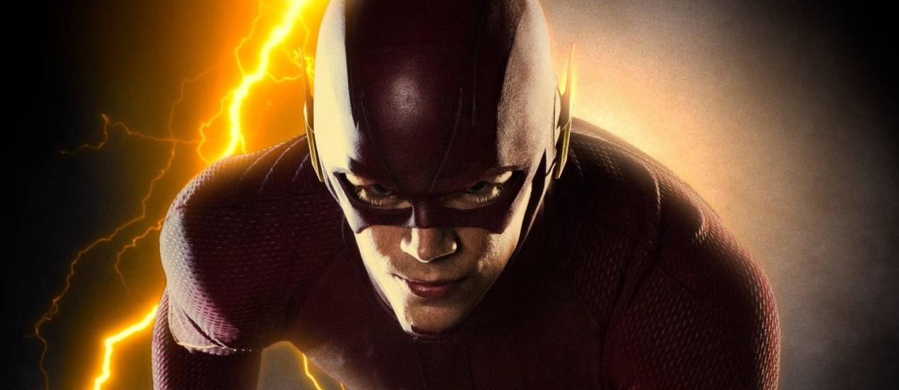 Grant Gustin como The Flash Foto: Divulgação