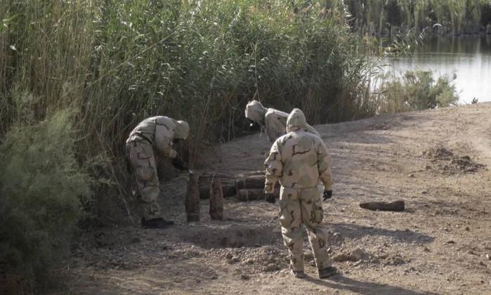 Soldados americanos no Iraque foram expostos a armas químicas, diz jornal