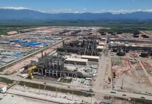 Vista aérea do complexo da Complexo Petroquímico do Rio de Janeiro Foto: Genilson Araújo / Agência O Globo