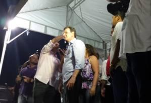 Crivella fez campanha em Maricá