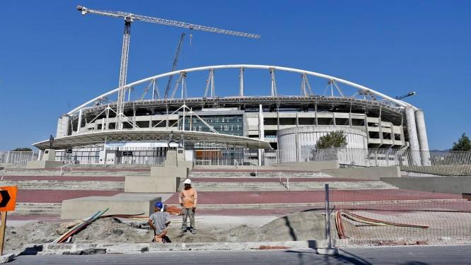 """Quase dois anos. O canteiro de obras do Engenhão, no calvário financeiro do Botafogo: previsão para a reabertura é """"no fim de novembro"""", mas o estádio só deve receber jogos em 2015 Foto: Ivo Gonzalez"""