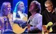Rick Wakeman, Roger Hodgson, Jon Anderson e Richard Williams (Kansas)