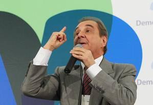 'É uma confissão de culpa do petismo', afirma Agripino Maia, coordenador da campanha de Aécio Neves Foto: Ailton de Freitas/15-03-2011 / Agência O Globo