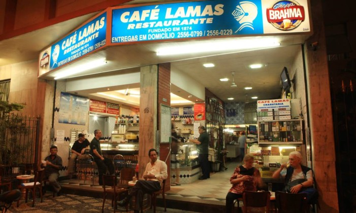 Café Lamas, no Flamengo Foto: Berg Silva/21-07-2011 / Agência O Globo