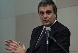 O ministro da Justiça, José Eduardo Cardozo Foto: André Coelho / Arquivo O Globo