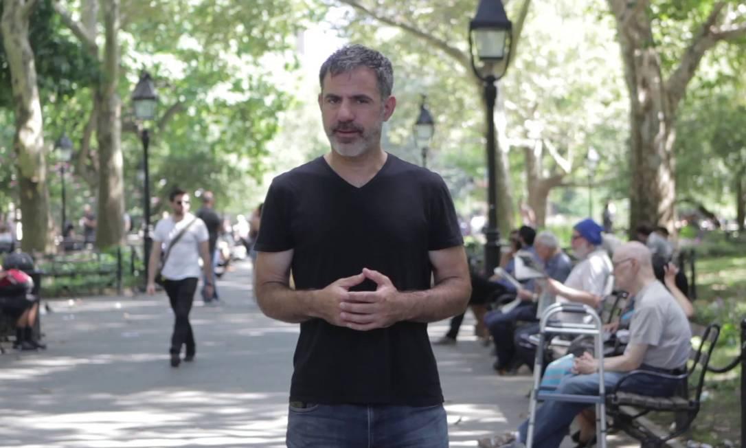 Seth Kugel em cena: vídeos mostram o que fazer e o que não fazer em Nova York Foto: Divulgação