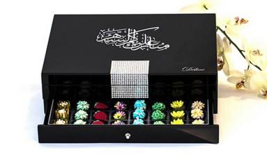 Em Londres, bombons luxuosos fazem sucesso custando mais de 2 mil reais Foto: Divulgação