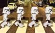Star Wars de Lego na Abbey Road: tudo tem a ver com o jeito de andar