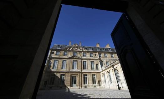 O Hôtel Salé, construção do século XVII onde funciona o museu, foi totalmente renovado. A reforma custou 52 milhões de euros Foto: BENOIT TESSIER / REUTERS