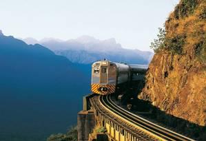 Trem da Serra do Mar, que liga Curitiba a Morretes Foto: Carlos Renato Fernandes / Divulgação