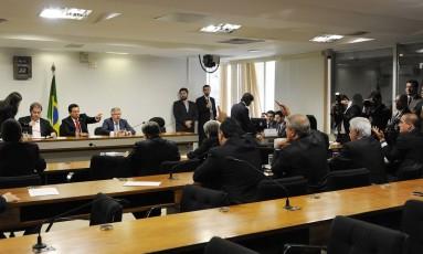 Reunião da CPMI da Petrobras Foto: Lucio Bernardo Jr / Agência Câmara