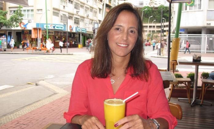 Renata Cordeiro Guerra: 'Arrumei um jeito de transformar a dor em amor' Foto: Mauro Ventura / O GLOBO
