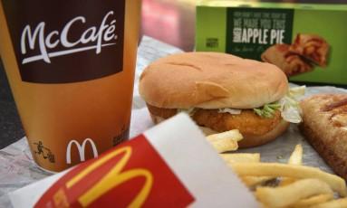 Hambúrgueres do McDonald's foram servidos em evento como se fossem opção orgânica Foto: Divulgação