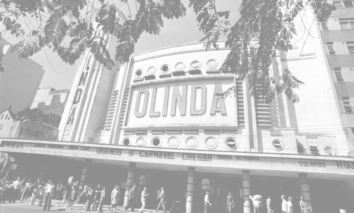 Cinema Olinda, em 1972 Foto: Acervo / O Globo