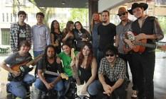 Coletivo Arariboia Rock realizou pesquisa com bandas da região e constatou falta de espaço para apresentações Foto: Márcio Alves / Agência O Globo