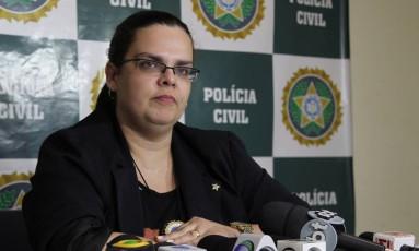 Tatiene Damaris era delegada assistente da 36ª DP (Santa Cruz) Foto: Fábio Guimarães / Agência O Globo (31/07/2013)