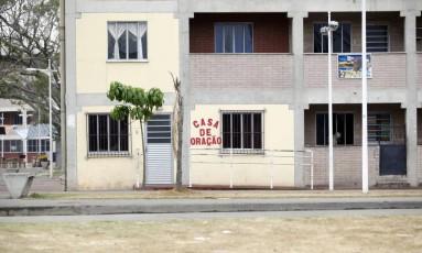 Conjunto do PAC em Manguinhos. Foto de 20/09/2012 Foto: Fábio Rossi / Agência O Globo