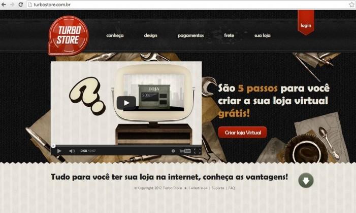Em cinco passos é possível criar uma loja virtual para vender produtos ou serviços on-line Foto: Reprodução