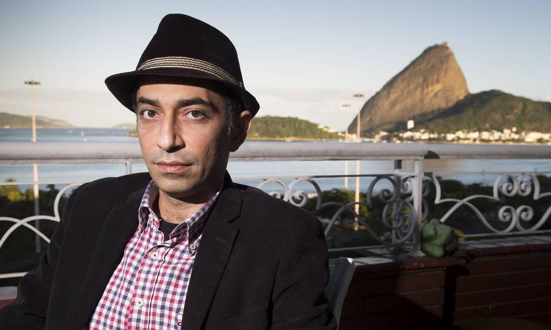 Poeta iraniano Mohsen Emadi, exilado no México, falará em Ouro Preto sobre sua experiência com o refúgio Foto: / Simone Marinho/28-4-2014