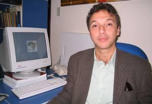 O cientista político Geraldo Tadeu Monteiro Foto: Divulgação/26-8-2005