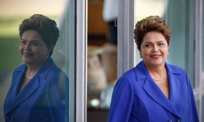 Presidente Dilma Rousseff Foto: André Coelho / O Globo